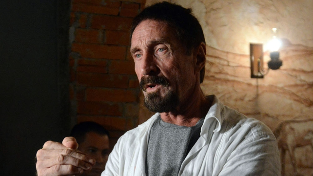 John McAfee is sought by police in Belize over death of Gregory Faull
