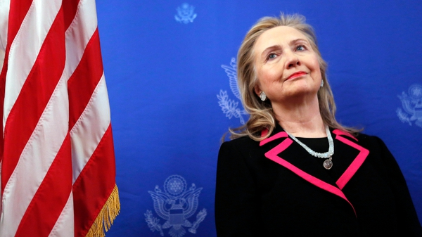 Hillary Clinton has a number of engagements in Dublin and Belfast