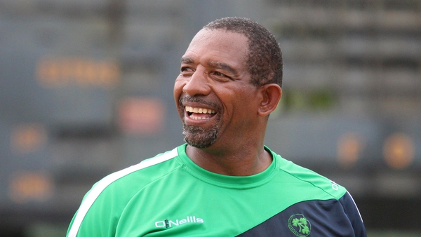 Ireland head coach Phil Simmons will be looking at players to move up to senior squad