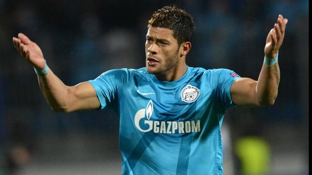 Hulk has threatened to leave Zenit St Petersburg