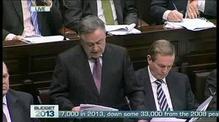 Minister Brendan Howlin's Budget Speech