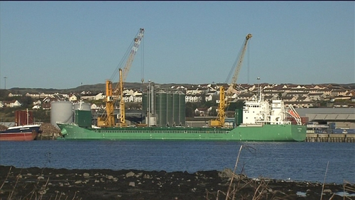 Cargo on the MV Arklow Meadow became wet and unstable
