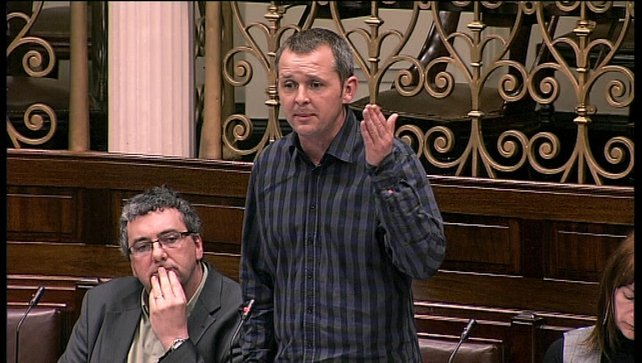 People Before Profit TD Richard Boyd Barrett said displacing existing jobs was 'an absolute scandal'