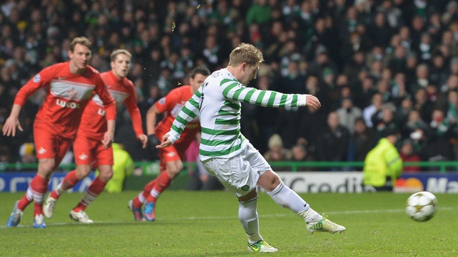 Kris Commons scored Celtic's second