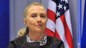 Hillary Clinton had to cancel a planned trip to the Middle East due to a stomach virus