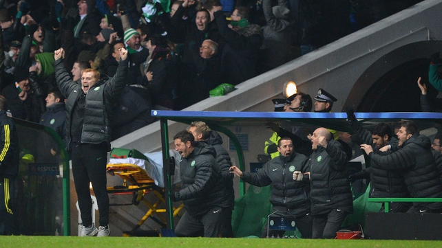 Neil Lennon couldn't watch the deciding penalty being taken