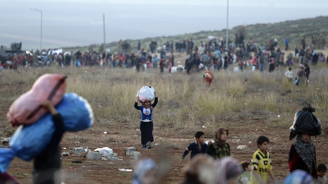 Most refugees have fled to Lebanon, Jordan, Turkey, Iraq and Egypt and some went to North Africa and Europe