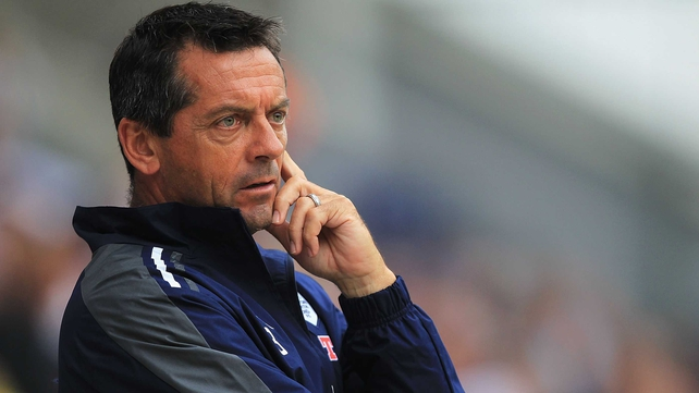 Phil Brown has held talks with Limerick FC officials