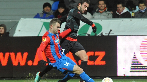 Holders Atletico Madrid were beaten 1-0 by Viktoria Plzen but both sides are through