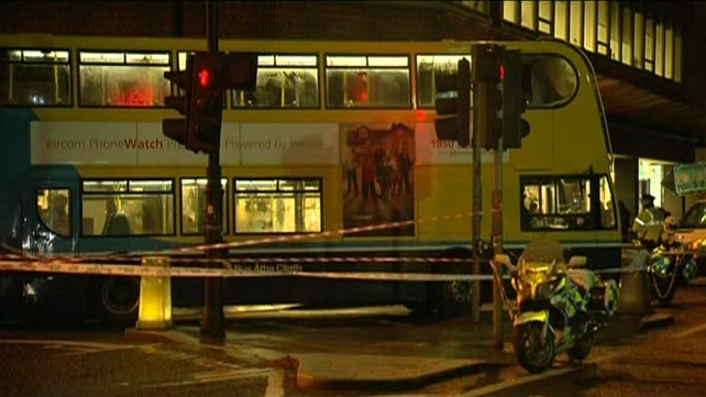Dublin Bus is also holding an inquiry into the incident