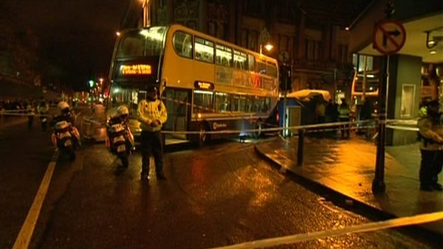 Gardaí described the death as 'suspicious'