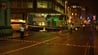 It is thought the man may have fallen onto the street during an altercation