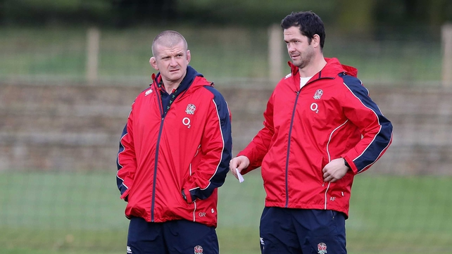 Andy Farrell (left) and Graham Rowntree (right) have been confirmed as coaches for the Lions tour