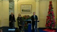 Clinton condemns Belfast street violence