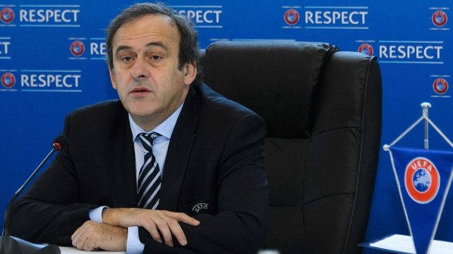 Michel Platini: 'Racism and violence - it is a little beyond our control because it is not just about football but al