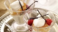 Peach Melba - Kevin Dundon's super simple SuperValu Christmas recipe