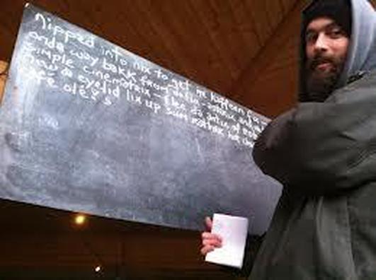 Poet John Cummins