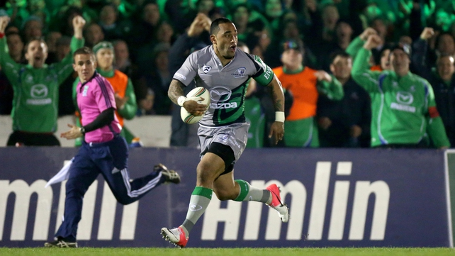 Fetu'u Vainikolo is back for Connacht