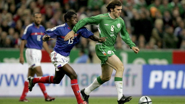 Kevin Kilbane played for Ireland 110 times, making his debut in 1997 against Iceland