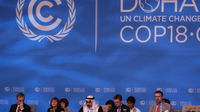 Up to 200 nations voted to extend Kyoto protocol