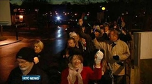Over 1,000 attend candle lit protest