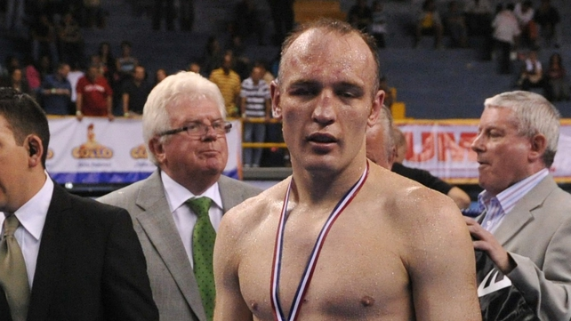 Brian Magee's super middleweight title reign is over. The Lisburn fighter lost to Mikkel Kessler