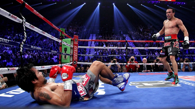 Manny Pacquiao was beaten in his last two fights