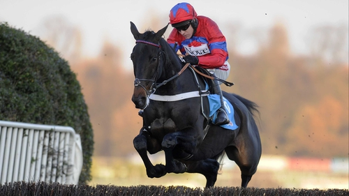 Sprinter Sacre gives the Sandown fences plenty of respect on his way to a sensational success in the Tingle Creek