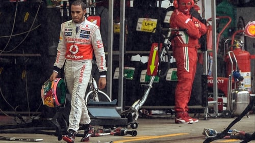 Lewis Hamilton walked away from McLaren to join Mercedes