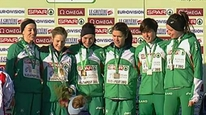 Irish women's team take European gold in Budapest