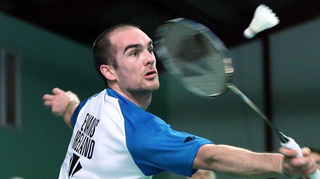 Scott Evans has lost all three of his encounters against Lee Chong Wei