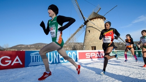 Finnuala Britton wins gold at the European Cross Country Championships in Hungary