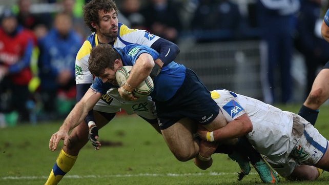 Gordon D'Arcy will start for Leinster against Wasps
