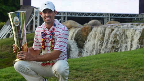Charl Schwartzel romped to an 11-shot win in Thailand
