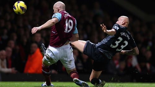 James Collins' og decided the game in Liverpool's favour