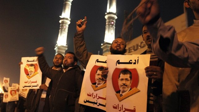 President Mursi's opponents accuse him of plunging Egypt deeper into a crisis