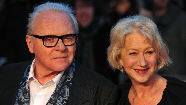Anthony Hopkins and Helen Mirren
