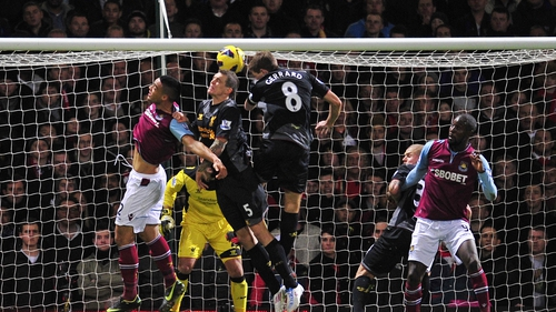 Gerrard chipped in with an own goal that West Ham the lead before the Merseysiders strong finish gave them the points