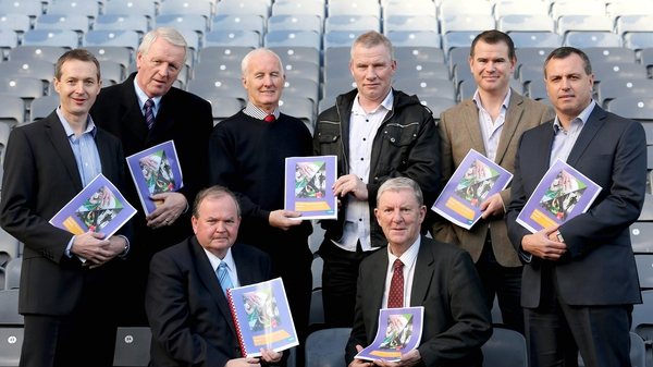 Members of the Committee pictured at Croke Park