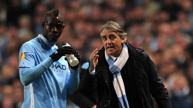 Manchester City striker Mario Balotelli faces an uncertain future at the club