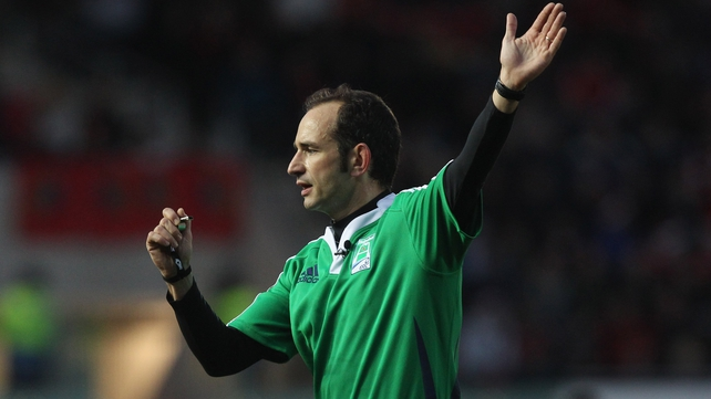 Romain Poite is in charge for Ireland's Six Nations opener with Wales