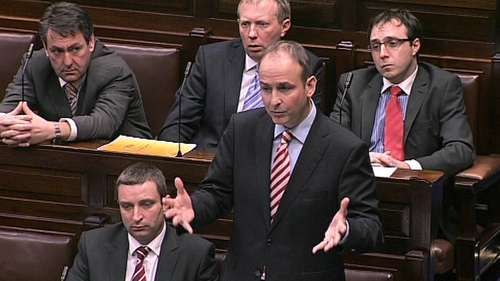 Micheál Martin has seen a rise in support for Fianna Fáil under his leadership
