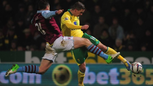 Steve Morison opened the scoring for Norwich