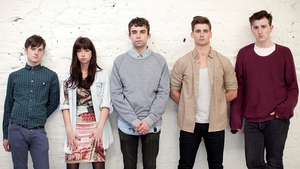 Little Green Cars: Stevie Appleby far right