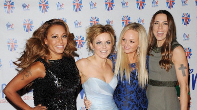 The Spice Girls were reunited once again at the launch of stage musical Viva Forever