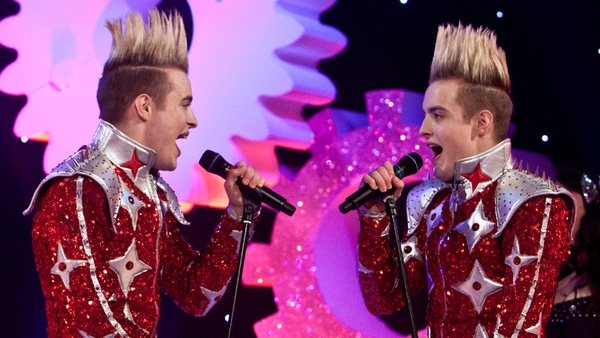 Jedward are back on RTÉ Two