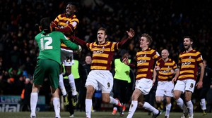Today's decision is more good news for Bradford after their shock win over Arsenal