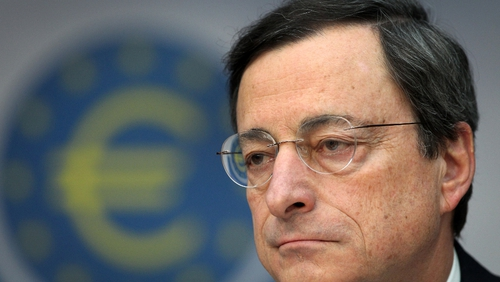 Mario Draghi says the ECB will re-evaluate the disclosure of the letter