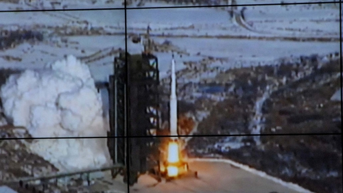 The US has described the missile launch as a 'highly provocative act'