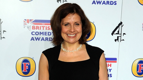 Rebecca Front - picked up the award for best TV comedy actress